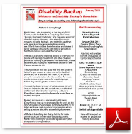 Click here to read the current Disability BackUp Newsletter
